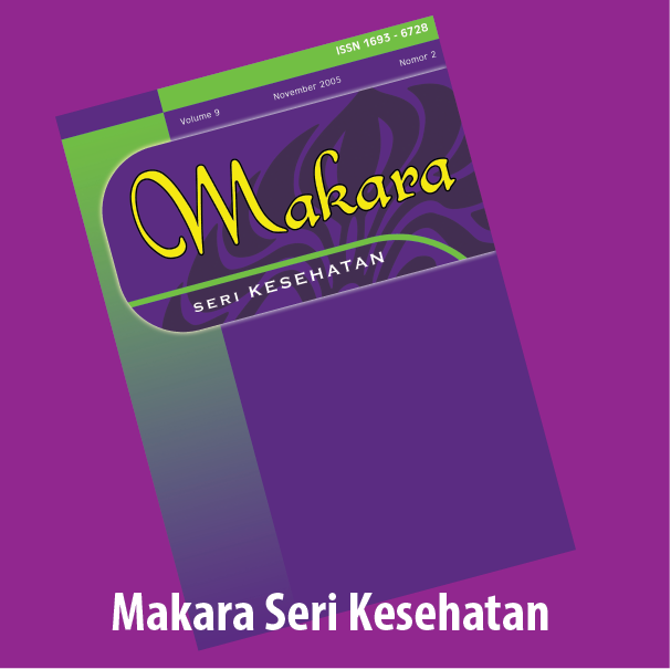Makara Journal of Health Research