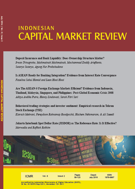 Indonesian Capital Market Review (ICMR)