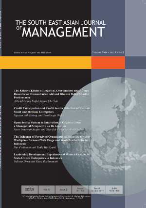 The South East Asian Journal of Management